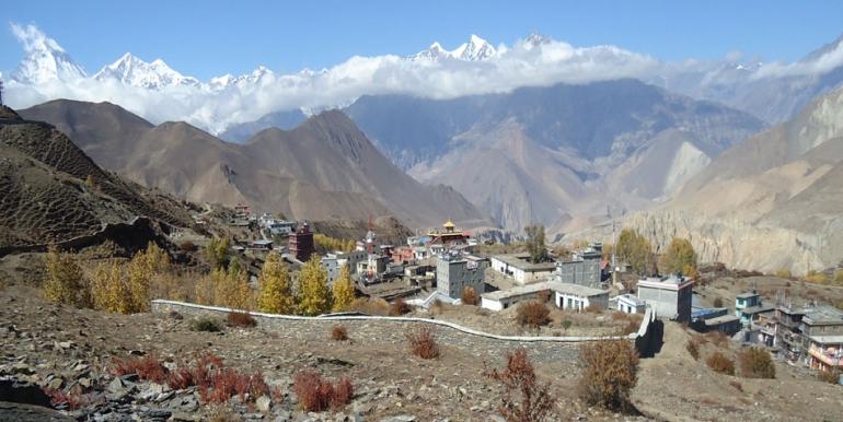 Muktinath Village in Annapurna
