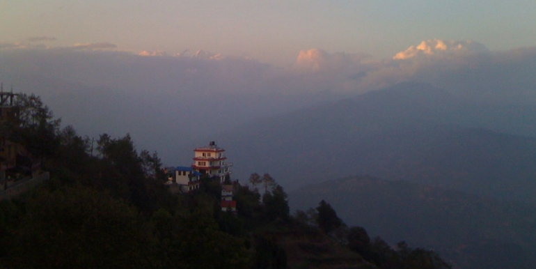 Morning view from Nagarkot