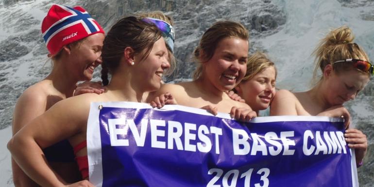 -15 Degree cold enjoying the girls in EBC